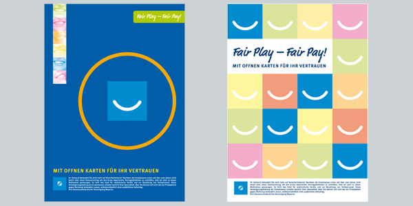 KKassenzahnärztliche Vereinigung Bayern, München, Corporate Design, Design Flyer, Poster