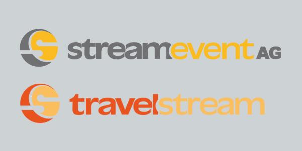Corporate Design, Logo, Streamevent AG