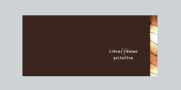 Imagebroschüre, Umschlag, Fa. Kintscher