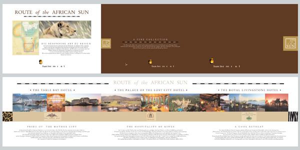 Design und Produktion Imagebroschüre