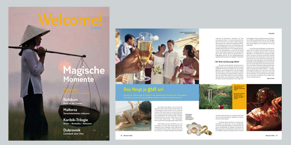 TUI AG, Corporate Design, Kundenmagazin