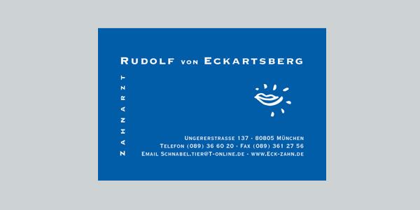 Zahnarzt v. Eckartsberg München, Marketingberatung, Online-Marketing, Offline-Marketing, Praxismarketing, Corporate Identity  Corporate Design, Logoentwicklung, Flyer, Webdesign, Geschäftsausstattung